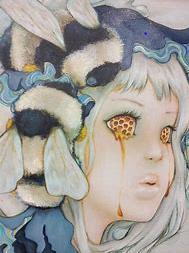 D'Errico honey eyes